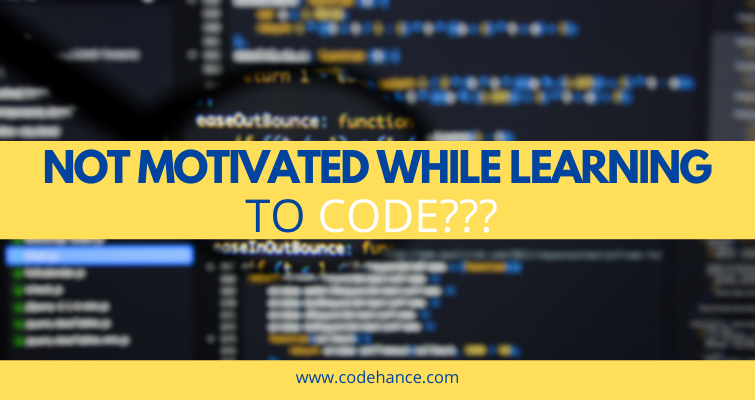 How to stay motivated while learning to code